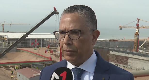 Abderrahim El Hafidi : le projet de dessalement d'Agadir est l'un des plus grands projets dans la région méditerranéenne et africaine