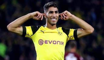 حكيمي يتفوق على لاعبي الدوريات الأوروبية