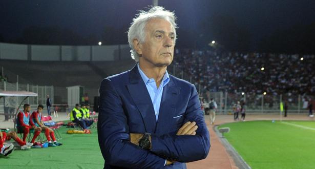 بعد التعادل مع ليبيا .. هاليلوزتش ينتقد اللاعبين المحليين
