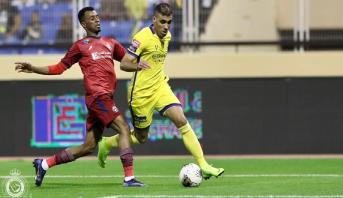"""حمد الله يقود """"النصر"""" إلى نصف نهائي كأس ملك السعودية"""