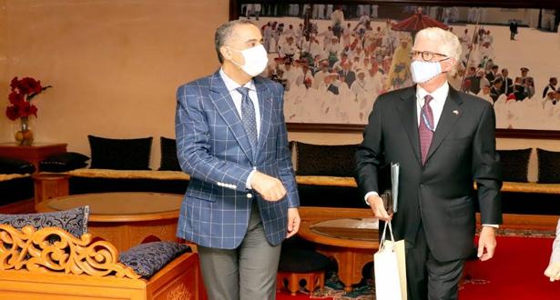 Hammouchi reçoit à Rabat l'ambassadeur des Etats-Unis au Maroc