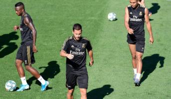 Real Madrid: Hazard se blesse à l'entrainement