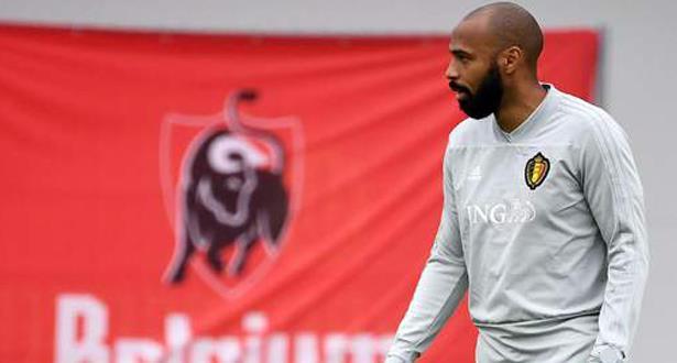 Football: Thierry Henry dans le staff technique de l'équipe de Belgique jusqu'au Mondial 2022
