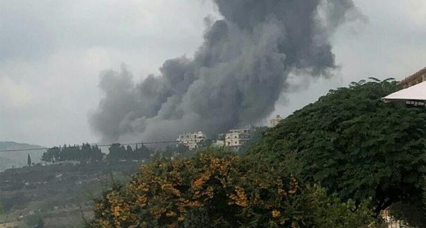 """انفجار في مركز تابع لـ """"حزب الله"""" جنوب لبنان"""