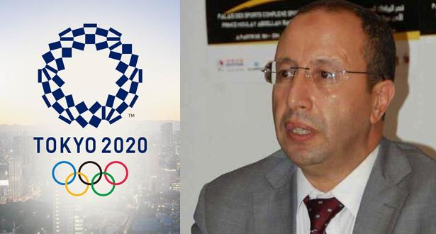 مغربي عضوا بلجنة المنافسات خلال دورة الألعاب الأولمبية (طوكيو 2020)