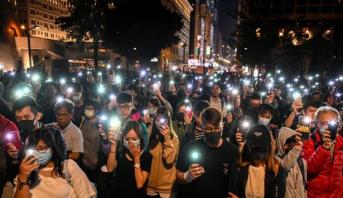 """Hong Kong: Pékin prêt à """"riposter"""" après le vote du Congrès américain"""