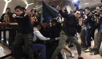تواصل المواجهات في هونغ كونغ لليوم الثالث على التوالي