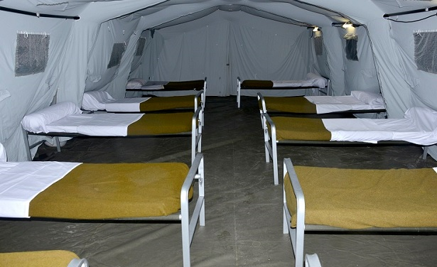 Guelmim: mise en place d'un hôpital de campagne pour les patients du Covid-19