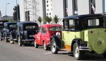 أزيد من 40 سيارة عتيقة في جولة استعراضية بمعرض الفرس بالجديدة