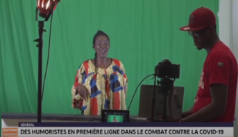 Coronavirus: les humoristes africains mobilisés