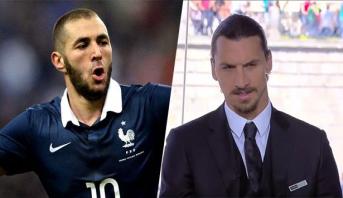 إبراهيموفيتش ينتقد بقوة مدرب فرنسا : ديشان لا ينبغي أن يكون في روسيا