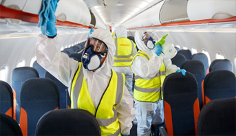 توصيات صحية لشركات الطيران قبل استئناف نشاطها