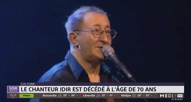 Culture: le chanteur Idir est décédé à l'âge de 70 ans