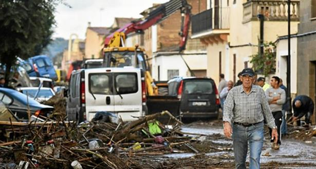 مصدر رسمي: لا ضحايا مغاربة في فيضانات جزر البليار