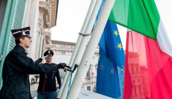 إيطاليا تقف دقيقة صمت حدادا على ضحايا وباء كورونا