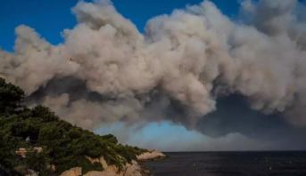 France: incendie maîtrisé près de Marseille