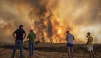 Incendie à Huelva: 10.000 hectares ravagés et 2.400 personnes évacuées