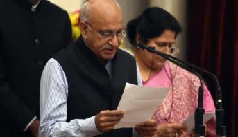Inde: Démission du ministre d'État aux Affaires Etrangères suite à des accusations de harcèlement