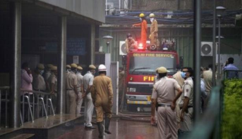 مصرع 43 شخصا جراء حريق كبير في مصنع بنيودلهي