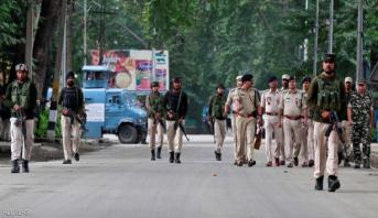 صدامات بين الشرطة ومئات المتظاهرين في الجزء الهندي من كشمير