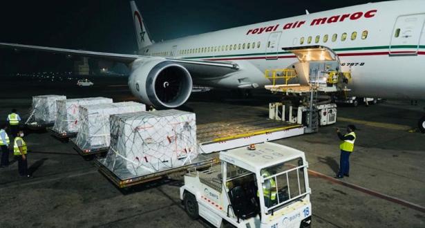 سفارة الهند بالمغرب تنشر صورة لأولى شحنات لقاح أسترازينيكا التي تم إرسالها للمغرب