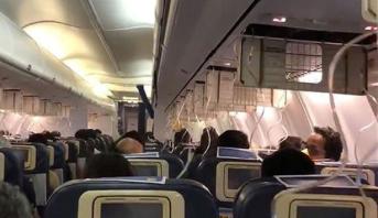 تعرض ركاب طائرة هندية لمتاعب صحية إثر انخفاض الضغط في قمرة القيادة أثناء الطيران