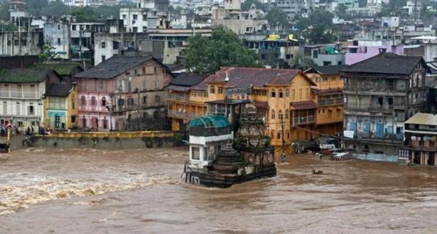 الهند .. مصرع 16 شخصا على الأقل بسبب الفيضانات