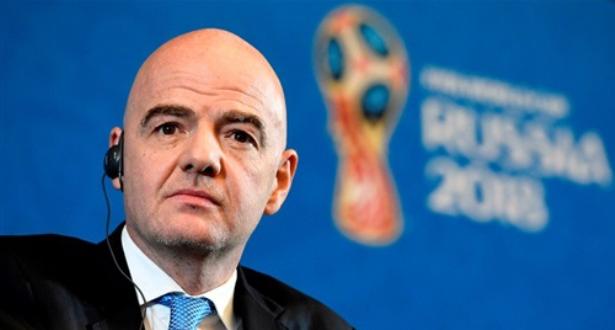 إنفانتينو يعلق على مقترح زيادة المنتخبات في مونديال 2022