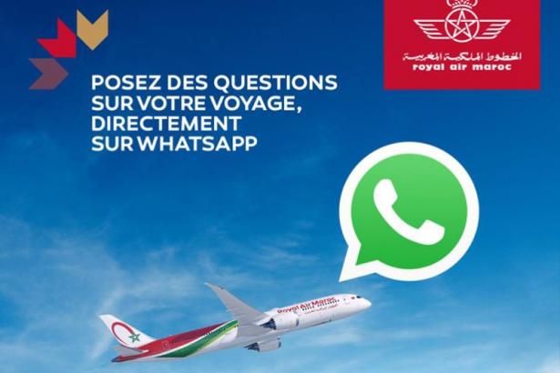 Royal Air Maroc lance un chatbot Whatsapp