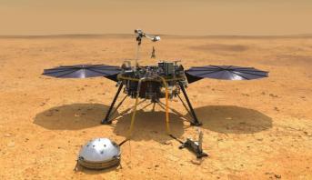 """مركبة فضائية تابعة لـ """"ناسا"""" ترصد أصواتا على سطح المريخ"""