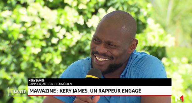 Mawazine: Kerry James, un rappeur engagé