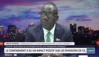Oboué Durand, invité de la rédaction de Medi1 TV Afrique