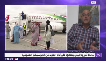 عبد العزيز الرماني يبرز تداعيات جائحة كورونا على المؤسسات العمومية بالمغرب