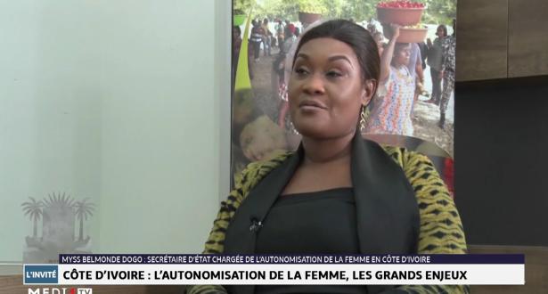 Entretien avec Myss Belmonde Dogo, Secrétaire d'Etat chargée de l'autonomisation de la femme en Côte d'Ivoire