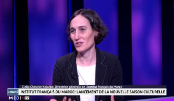 Clélia Chevrier Kolačko, directrice générale de l'Institut Français du Maroc,   invitée de Medi1TV Afrique