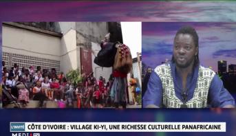 Ben Mpeck : Village Ki-Yi en Côte d'Ivoire, une richesse culturelle panafricaine