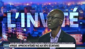 Colonel Babakar Diouf - Afrique : approche intégrée face aux défis sécuritaires