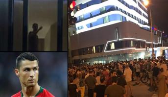 مشجعون إيرانيون يقلقون راحة رونالدو قبل المواجهة الحاسمة