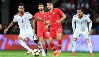 منتخب إيران يسقط وديا أمام تركيا استعدادا للمونديال