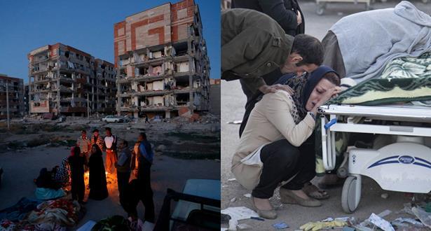 ارتفاع حصيلة ضحايا الزلزال بإيران إلى 530 قتيلا