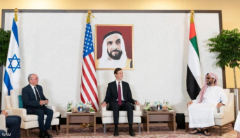 وفد أمريكي وإسرائيلي برئاسة كوشنير يبحث في أبوظبي آفاق التعاون المستقبلي بين الإمارات وإسرائيل