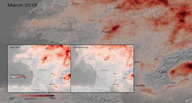 الحجر الصحي جعل هواء مدن أوروبية أكثر نقاءً