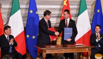"""إيطاليا تنضم إلى مشروع """"طرق الحرير الجديدة"""" الصيني"""