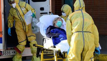أوكرانيا تسجل عددا قياسيا في إجمالي حالات الإصابة اليومية بفيروس كورونا