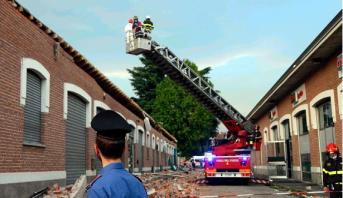 مصرع مغربية وطفليها في حادث انهيار شرفة بشمال إيطاليا