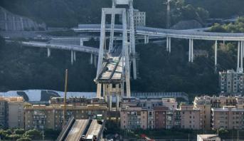 انهار جسر جنوى .. إيطاليا تشرع في تحديد المسؤوليات