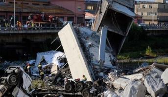 الحكومة الإيطالية تحمل مسؤولية حادث الجسر إلى شركة الطرق السيارة