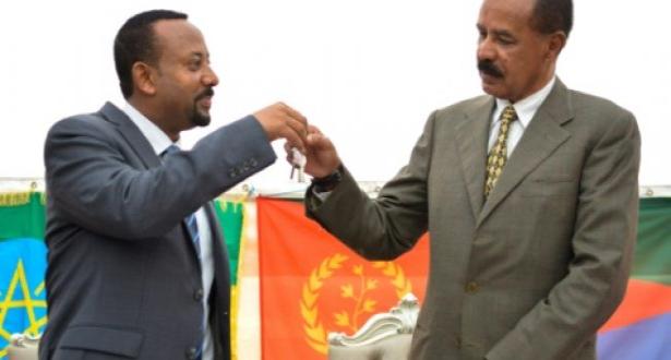 بعد قطيعة 20 عاما .. إعادة افتتاح الحدود البرية بين اثيوبيا واريتريا