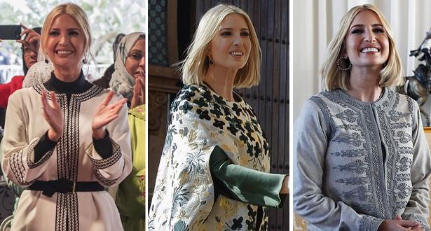 السر وراء ارتداء إيفانكا ترامب للزي المغربي