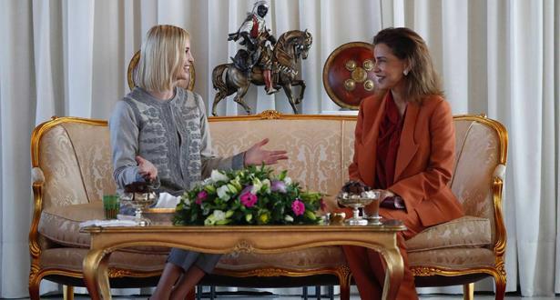 إيفانكا ترامب تشيد بريادة الملك محمد السادس (بيان مشترك)